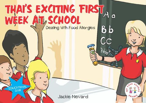 Thai's Exciting First Week At School, Dealing with Food Allergies, My Food Allergy Friends