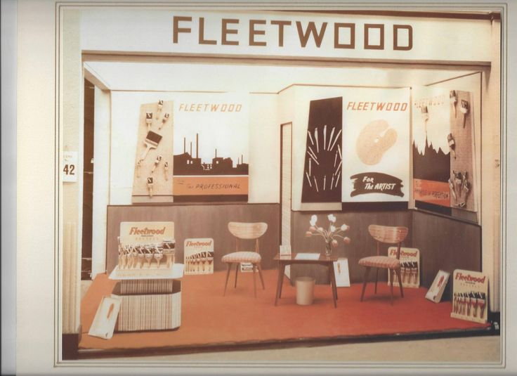 The Fleetwood Stand 1954 Dublin Horse Show in the RDS.