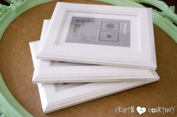 Seashell Picture Frame Art: Getting Started