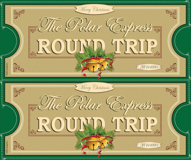 15 best polar express tickets images on pinterest merry