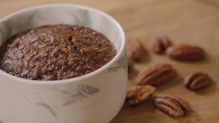 Chocolade mug cake van Sandra Bekkari   VTM Koken