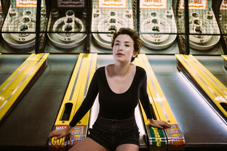 Arcade Portrait Session - Blog — CamrynElizabeth