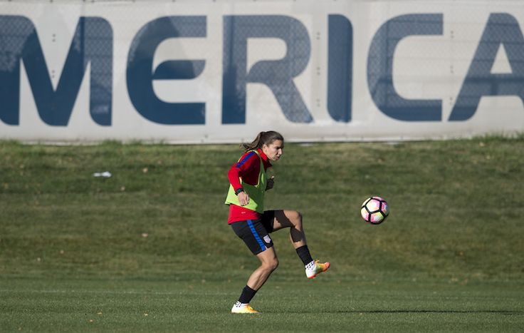 Gallery: WNT Training Ahead of Switzerland Match Up - U.S. Soccer