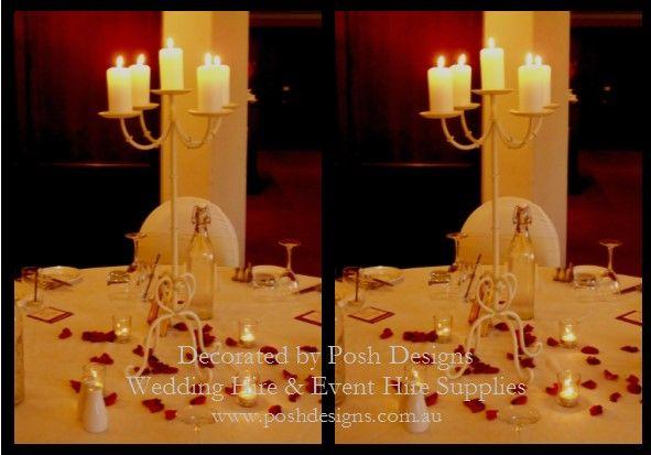 #weddingtablecentre #tallivorycandelabra #theming available at #poshdesignsweddings - #sydneyweddings #southcoastweddings #wollongongweddings #canberraweddings #southernhighlandsweddings #campbelltownweddings #penrithweddings #bathurstweddings #illawarraweddings  All stock owned by Posh Designs Wedding & Event Supplies – lisa@poshdesigns.com.au or visit www.poshdesigns.com.au or www.facebook.com/.poshdesigns.com.au #Wedding #reception #decorations #Outdoor #ceremony decorations