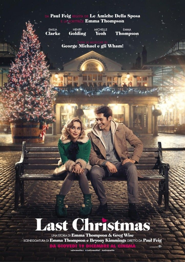 Last Christmas Movie Source New Last Christmas Italian Poster And Also New Last Christmas Movie Full Movies Online Free Full Movies