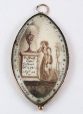 WeepEye Miniatures, Victorian Mourning, Mourning Memento, Mourning Jewelry, Art Jewelry, Victorian Jewelry, Death Intriguing, Interesting Ideas, Memento Mori