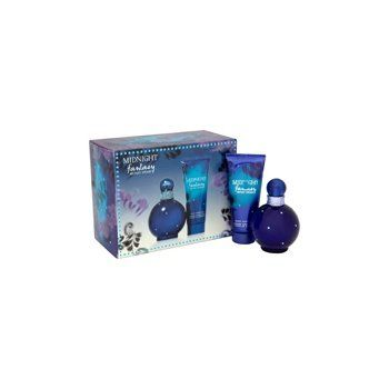 Britney Spears Fantasy Midnight Gift Set (Eau De Parfum Spray, Body Lotion) - http://www.theperfume.org/britney-spears-fantasy-midnight-gift-set-eau-de-parfum-spray-body-lotion/