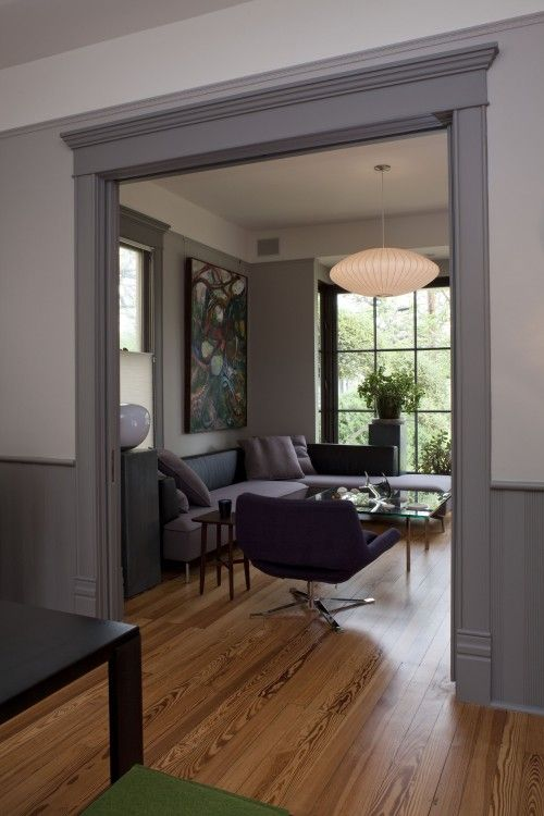 Light Walls Darker Trim : 1000+ ideas about Grey Trim on Pinterest Cabinet colors, Cabinet paint colors and Family room ...