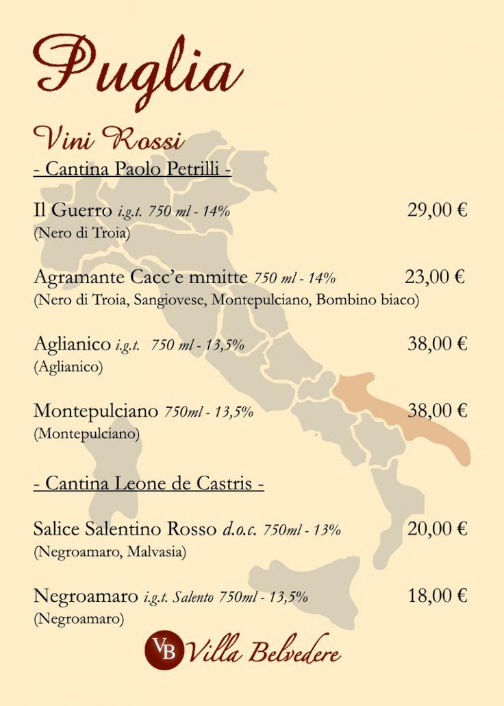 CARTA DEI VINI | Carta dei vini | MooLab