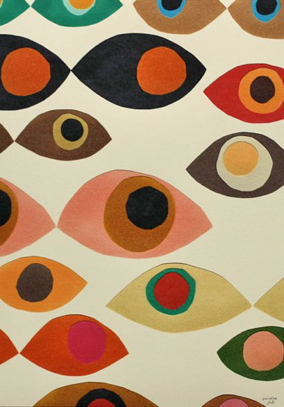 inspiration -  Print: eye prints