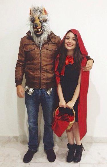 Rotkäppchen Kostüm selber machen | Kostüm Idee zu Karneval, Halloween & Fasching