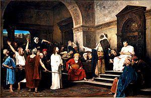 Pontius Pilate - Wikipedia, the free encyclopedia