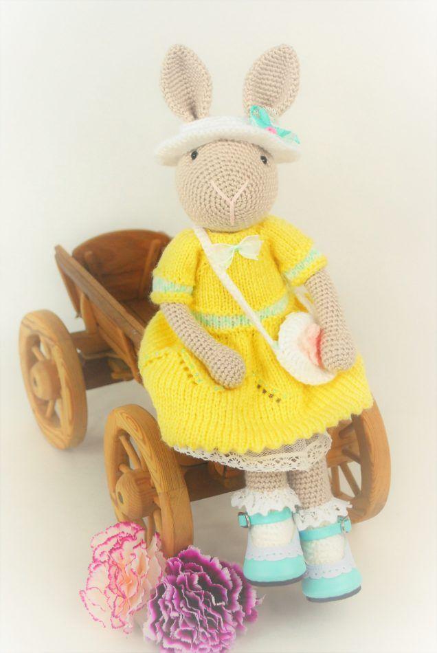Króliczka Chloe Amigurumi Crochet bunny rabbit