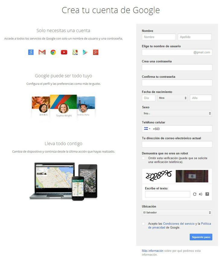 Todas las personas que disponen de una cuenta de correo electrónico en Gmail, se dan el lujo de usar herramientas que obtienen al registrarse en este servicio de correo electrónico.  Si tú quieres disfrutar de todo eso, entonces procede a crear correo electrónico en Gmail siguiendo estos pasos.