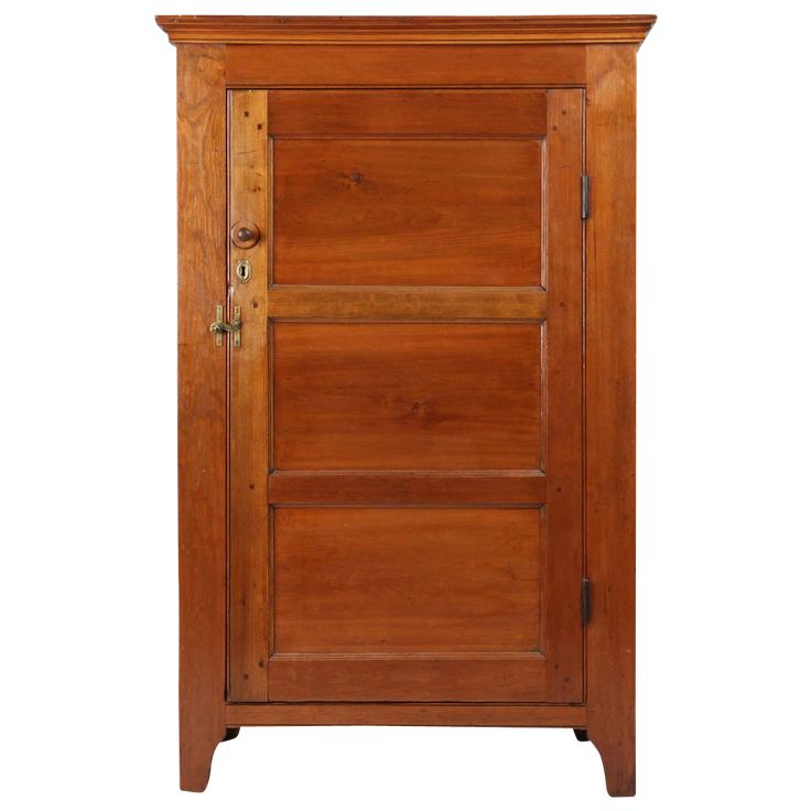 American Pennsylvania Antique Jelly Cupboard, Probably Lehigh Valley Or  Lancaster County, C. 1820