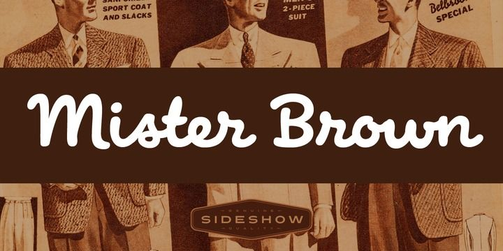 Mister Brown (HOT font) - http://fontsdiscounts.com/mister-brown-hot-font/