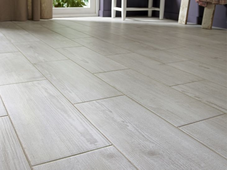 60 best images about carrelage on pinterest contemporary - Parquet flottant blanc vieilli ...