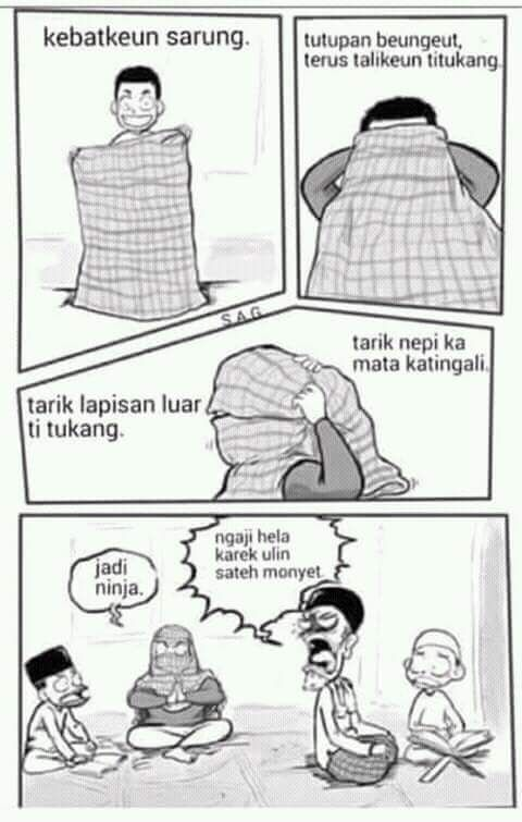 Komik Lucu Bahasa Sunda