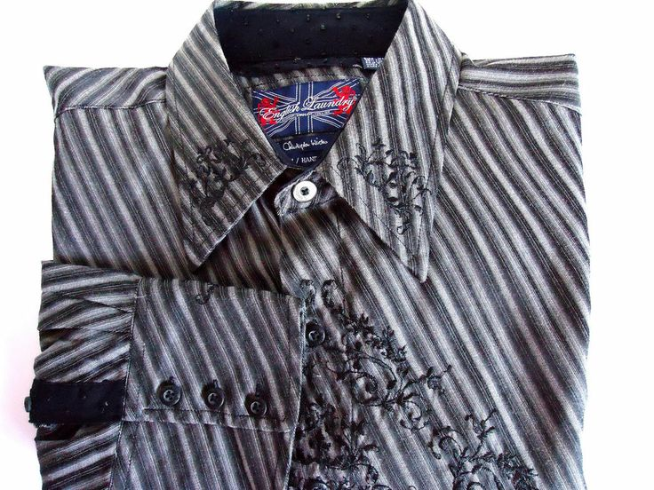 English Laundry By Christopher Wicks Men S Black And Gray