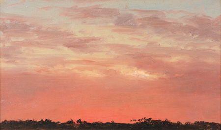 Lockwood de Forest - Desert Storm near Beni Suef along the Nile, 1876