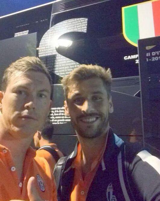 Stephan Lichtsteiner & Fernando Llorente