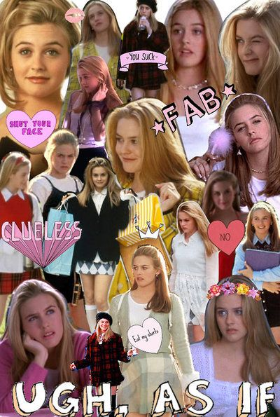 clueless collage ugh as if uh other stuff pinterest