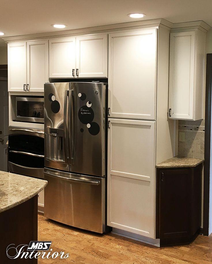 Cream Glazed Kitchen Cabinets: Dark Brown Images On Pinterest
