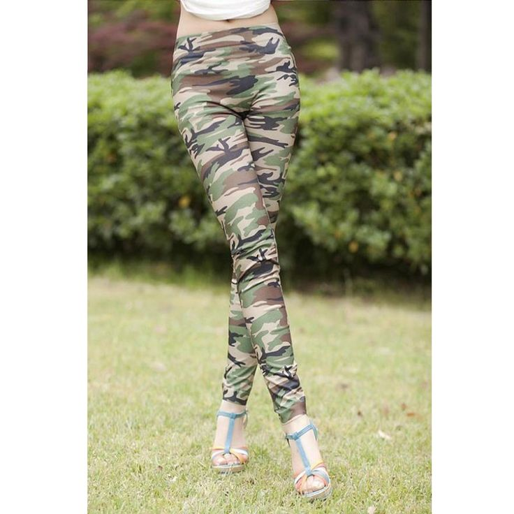 Leggings Jeans Camuflagem