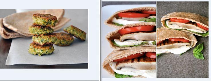 Γεμιστή κυπριακή πίτα με φαλάφελς ή ψητά μανιτάρια πορτομπέλο, λαχανικά και μοτσαρέλα ρυζιού  @Δήμητρα Μακρυγιάννη