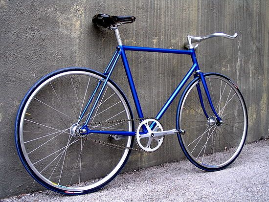 Bicicleta de piñón fijo - Wikipedia, la enciclopedia libre