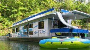 'Lake Cumberland Houseboat Rental - Houseboats For Rent State Dock 400 - Kentucky Boat Rentals<br/> <br/> <br/> 400 Houseboat Rental in Lake Cumberland, KY.  This is an amazing houseboat for groups at an affordable price.  State Dock Houseboat Rentals on Lake Cumberland in Kentucky.<br/> '