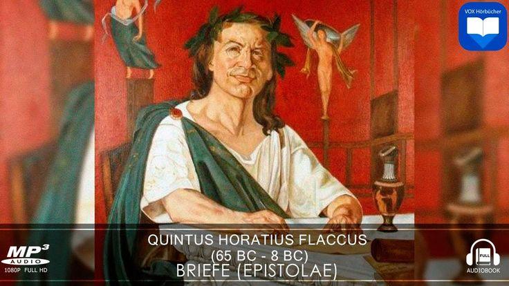 Hörbuch: Briefe Epistolae von Quintus Horatius Flaccus | Komplett | Deutsch