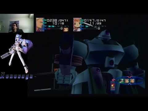 Battle with Giant Robots and then Margulis - XenoSaga (12)