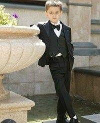 new 2015 boys suits for weddings clothes tuxedo Kids Notch Collar Children Wedding Suit Boys Attire(