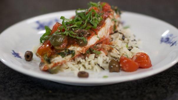 Lekker Zuiders & snel klaar: Dagelijkse kost - rode poon uit de oven met wilde rijst