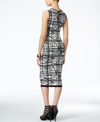 XOXO Juniors' Printed Midi Bodycon Dress