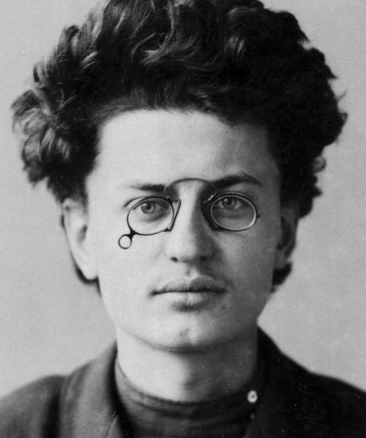 Lev Davidovich Trotsky (1879-1940), Russian Marxist Revolutionary and Theorist, Soviet Politician, and the Founder and First Leader of the Red Army.