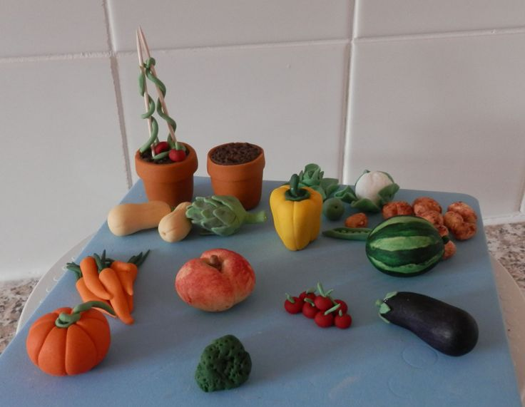 Fruits and Vegetable check the album of other mini sugar crafted fruits and vegetables over on facebook #Beccles