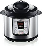 #9: Instant Pot IP-LUX60 V3 Programmable Electric Pressure Cooker 6Qt 1000W (updated model)