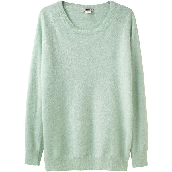 Acne Ry Angora Pullover ($250) ❤ liked on Polyvore