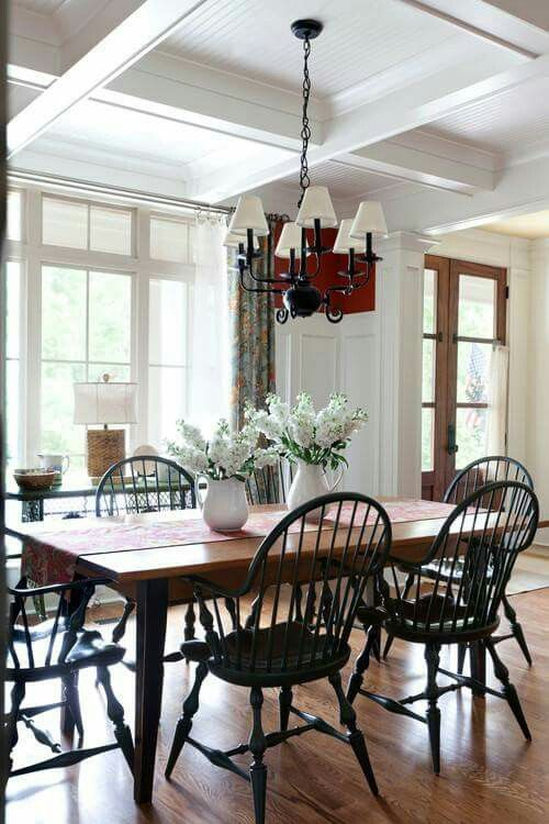 373 best prim/colonial dining rooms images on pinterest