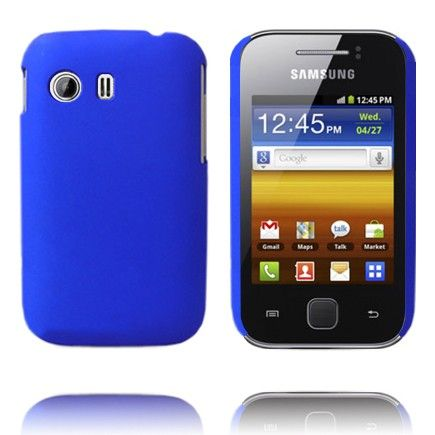Hard Shell (Sininen) Samsung Galaxy Y Suojakuori