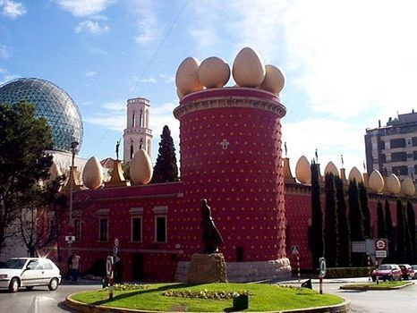 Museo Salvador Dali in Figueres, Costa Brava.