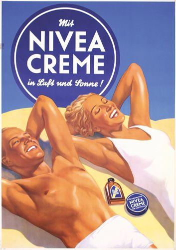 nivea cream in the air and sun (1936)