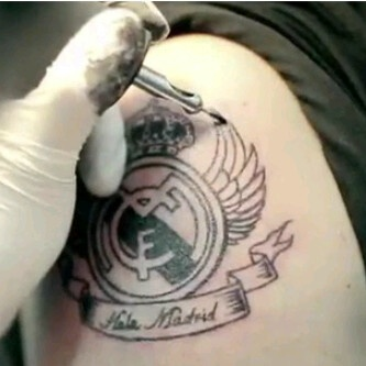 17 best images about real madrid on pinterest seasons for Real madrid tattoos