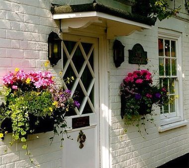 Window Boxes are not just for windows!