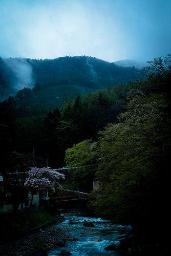 四万温泉 天気 小雨 2012/05/02 8:22