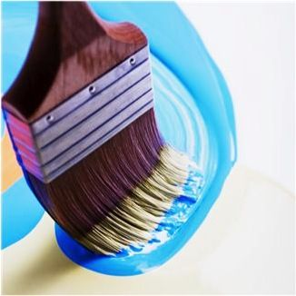 DIY: Fun with Magnetic Paint at TheFrugalGirls.com  {the possibilities are endless!!} #diy #paint