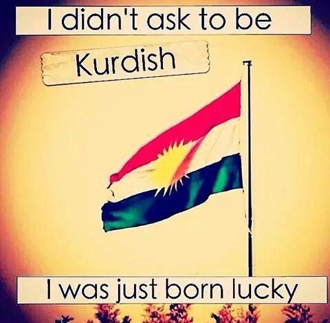 Always kurdistan flag is high ♡ ♥ ♡