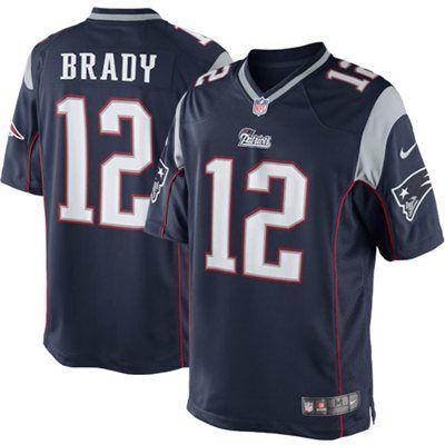 Tom Brady New England Patriots Nike Team Color Limited Jersey - Navy Blue